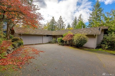 Mercer Island Single Family Home For Sale: 6126 W Mercer Way