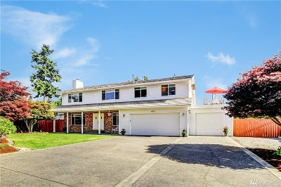 Mukilteo Single Family Home For Sale: 6014 96th St SW