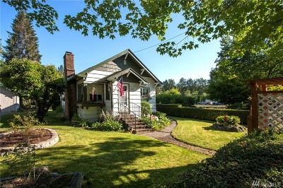 Snoqualmie Single Family Home For Sale: 38480 SE Fir St