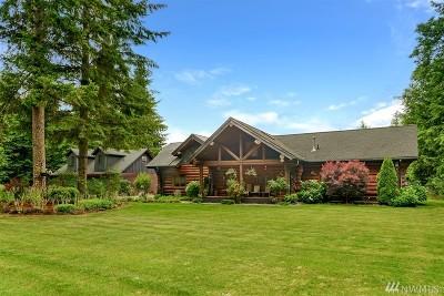 Carbonado Single Family Home For Sale: 27415 178th St E