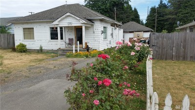 Centralia Single Family Home For Sale: 2116 N Pearl St