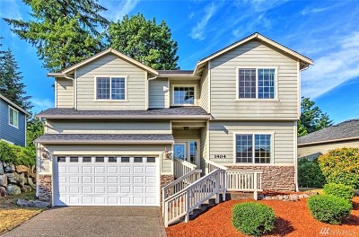 Tumwater Single Family Home For Sale: 1404 Sunrise Vista Lane SW