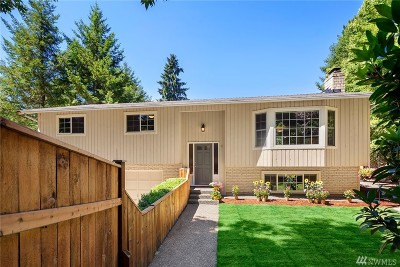 Woodinville Single Family Home For Sale: 19203 156th Ave NE