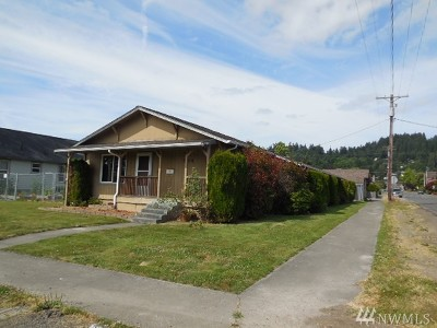 Chehalis Single Family Home For Sale: 584 SW William Ave
