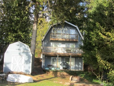 Lilliwaup Single Family Home Pending: 260 N Webster Lane