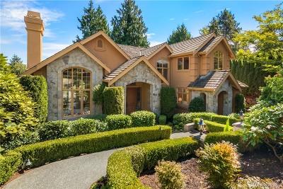 Medina Single Family Home For Sale: 3220 78th Place NE