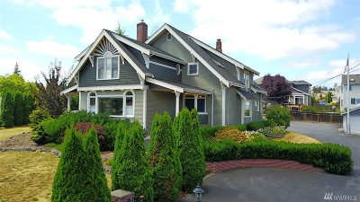 Puyallup Single Family Home For Sale: 8308 Woodland Ave E