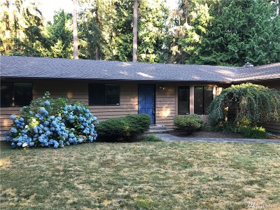 Snohomish County Single Family Home For Sale: 22725 102nd Ave SE