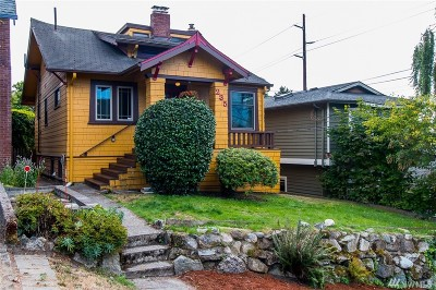 Seattle Single Family Home For Sale: 235 NW 50th St