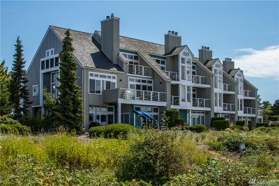 Blaine Condo/Townhouse For Sale: 9499 Semiahmoo Pkwy #B-10A