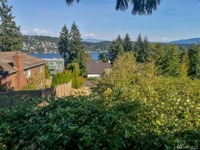 Bellevue Residential Lots & Land For Sale: 1721 187th Ave NE