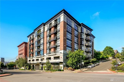 Tacoma Condo/Townhouse For Sale: 708 Market St #408