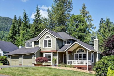 North Bend Single Family Home For Sale: 1125 Hemlock Ave SW