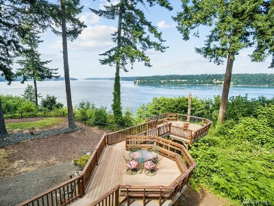 Gig Harbor Single Family Home For Sale: 4621 Holly Lane NW
