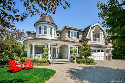 Bellevue Single Family Home For Sale: 19 Columbia Key