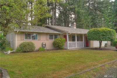 Shelton WA Single Family Home Sold: $192,500