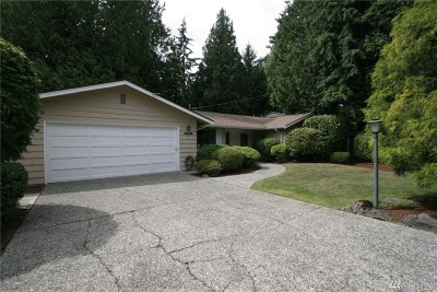 Mercer Island Single Family Home For Sale: 4533 SE 87th
