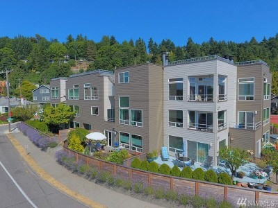 Condo/Townhouse Sold: 4004 Beach Dr SW #203