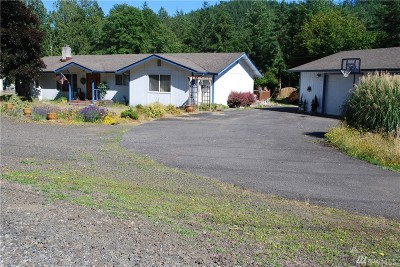 McCleary Single Family Home For Sale: 134 E Mox Chehalis Rd