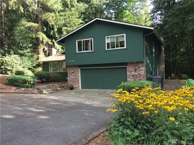 Woodinville Single Family Home For Sale: 18119 NE 191 St St