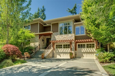 Medina Single Family Home For Sale: 827 80th Ave NE