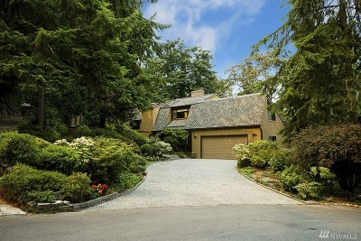 Mercer Island Single Family Home For Sale: 9258 SE 46th St