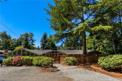 Mercer Island Single Family Home For Sale: 4111 80th Ave SE