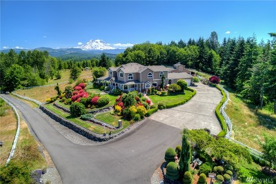 Eatonville Single Family Home For Sale: 13203 444th St E