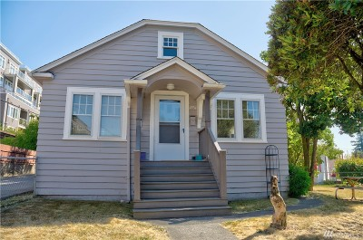 Seattle Single Family Home For Sale: 4954 Lewis Place SW