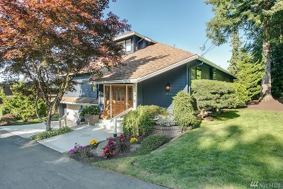 Mercer Island Single Family Home For Sale: 9602 SE 33rd
