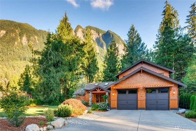 Snoqualmie Single Family Home For Sale: 44817 SE 70th St