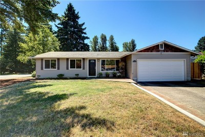 King County Single Family Home For Sale: 12315 SE 217th St