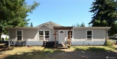 Rochester WA Single Family Home For Sale: $158,000