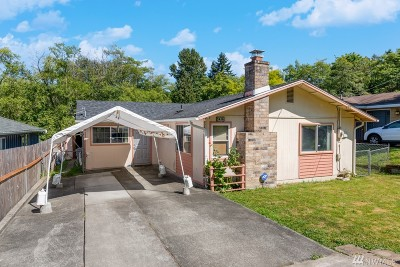 Single Family Home For Sale: 5416 30th Ave SW