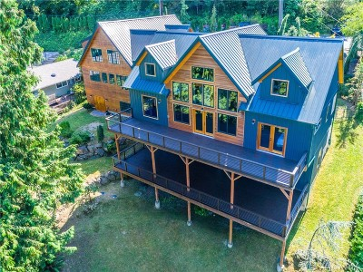 Snohomish Single Family Home For Sale: 6325 Adams Log Cabin Rd