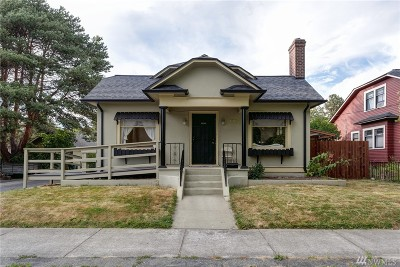 Single Family Home For Sale: 1206 Washington St