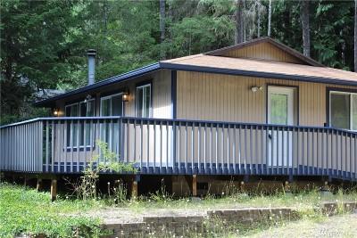 Mason County Single Family Home For Sale: 50 Duckabush Lp W
