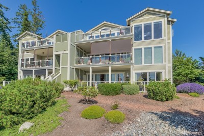 Anacortes WA Condo/Townhouse For Sale: $885,000