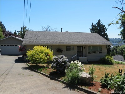 Renton Single Family Home For Sale: 252 Stevens Ave SW