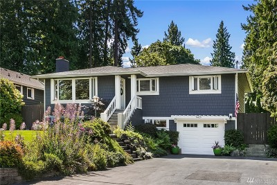 Mercer Island Single Family Home For Sale: 8429 SE 62nd St