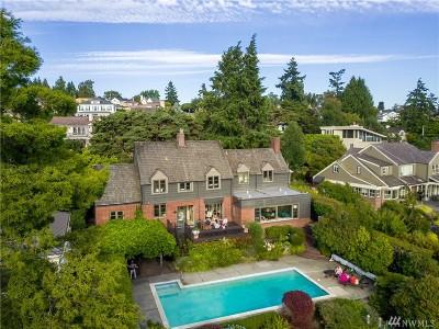 Seattle Single Family Home For Sale: 2686 Magnolia Blvd W