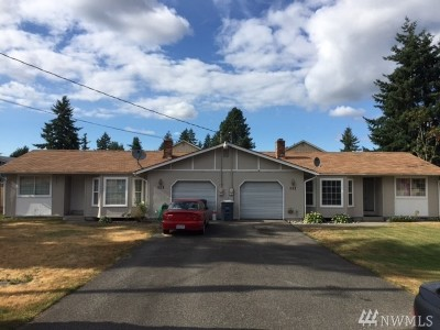 Pierce County Multi Family Home For Sale: 111 175th St S