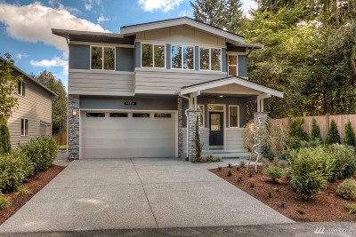 Kenmore Single Family Home For Sale: 16610 76th Ave NE #Lot1