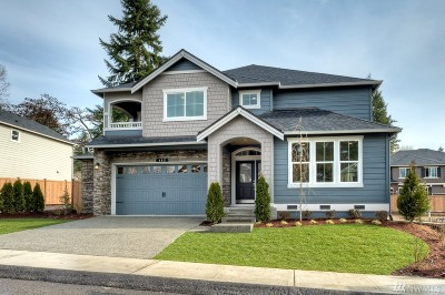 Kenmore Single Family Home For Sale: 17414 84th Ave NE #Lot3