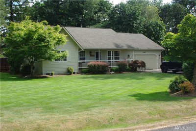 Tenino Single Family Home For Sale: 3225 175th St SE