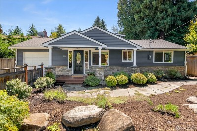 Mercer Island Single Family Home For Sale: 7211 SE 29th