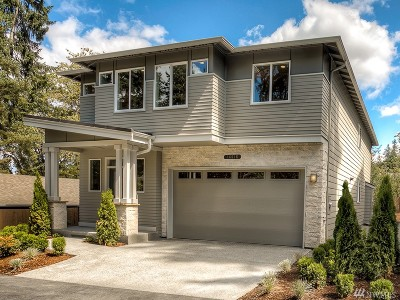 Kenmore Single Family Home For Sale: 16616 76th Ave NE #Lot2