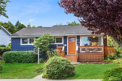 Seattle Single Family Home For Sale: 6831 37th Ave NE