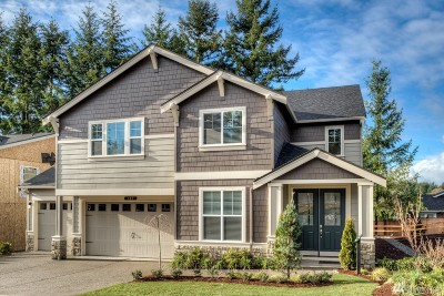 Kenmore Single Family Home For Sale: 17420 84th Ave NE #Lot4