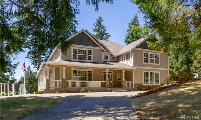 Gig Harbor Single Family Home For Sale: 5018 64th Ave NW